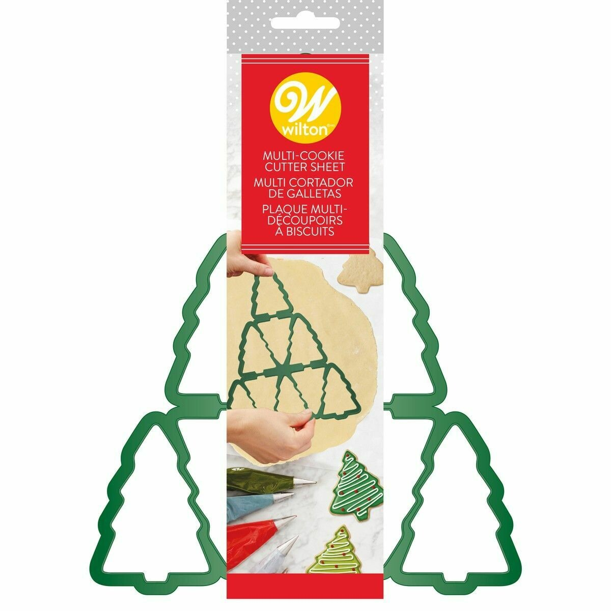 SALE!!! Wilton Multi Cookie Cutter Tree - Πολλαπλό κουπ πατ Χριστουγεννιάτικα Δέντρα
