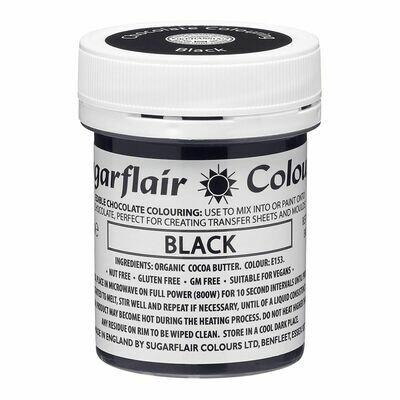 Sugarflair Chocolate Colour -BLACK 35g - Χρώμα σοκολάτας -Μαύρο