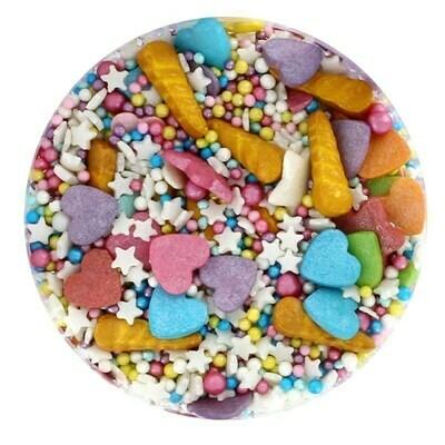 Purple Cupcakes Sprinkle Mix -UNICORN DREAMS-90ρ - Μείγμα Ζαχαρωτών Μονόκερος ∞