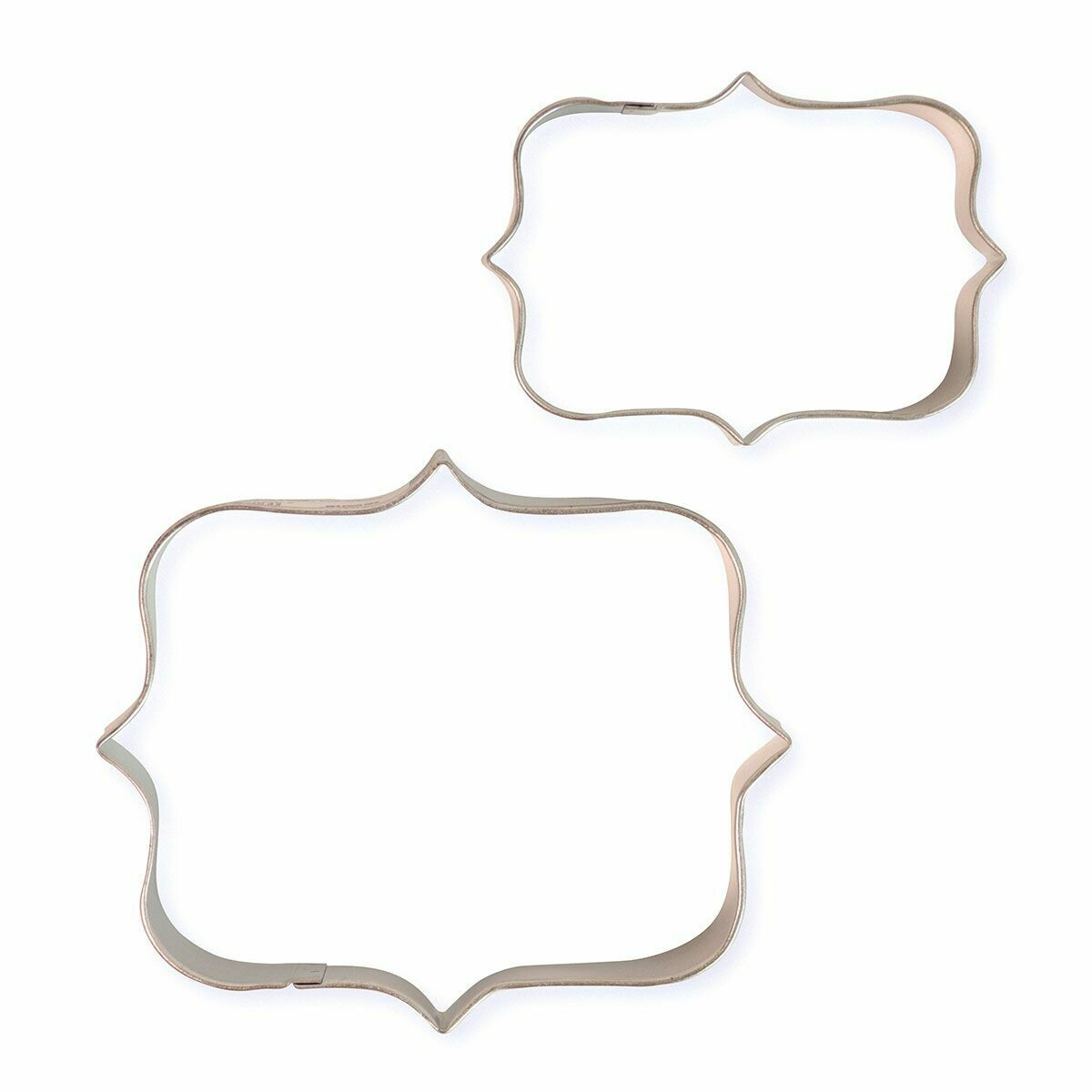 PME Set of 2 Plaque Cutters -STYLE 1 - Σετ 2τεμ κουπ πατ Κορνίζες/πλάκες