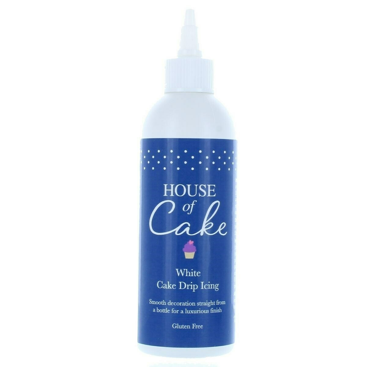 House of Cake Drip Icing -WHITE 180g - Γλάσο για Dripping Άσπρο