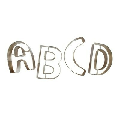 DecoPac Box of LARGE Letter Cutters -Σετ 26τεμ Μεγάλα Κουπ πατ Γράμματα 8εκ
