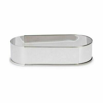 Patisse Adjustable Baking Frame -OVAL -Ανοξείδωτο Οβαλ Ρυθμιζόμενο Τσέρκι 27 έως 40εκ