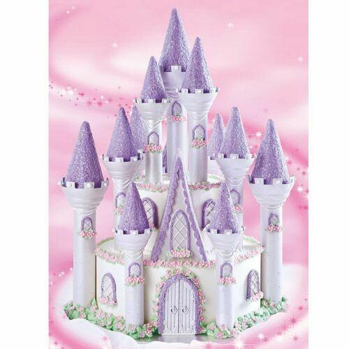 Wilton Romantic Castle Cake set 32τμχ - Σετ για διακόσμηση Τούρτας-Κάστρο