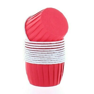 Baked With Love Baking Cups -RED - Κυπελάκια Ψησίματος -Κόκκινο 12 τεμ
