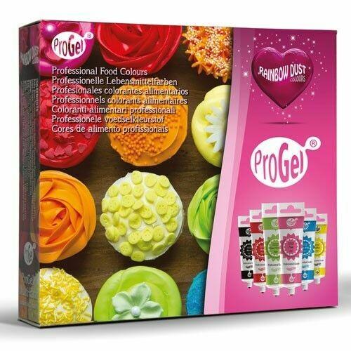Rainbow Dust ProGel® Multipack Pack of 6 colours - Σετ με 6 Χρώματα Τζελ