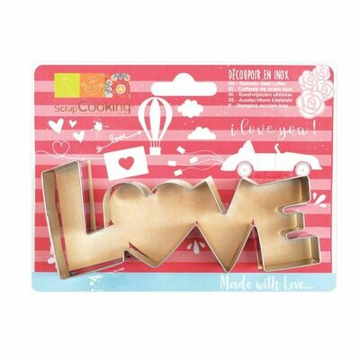 Scrapcooking Cookie Cutter -'LOVE' - Κουπ πατ 'LOVE'