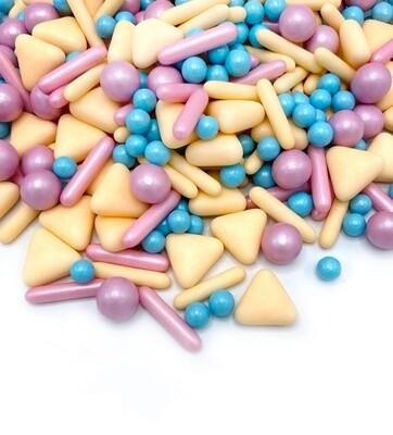 Happy Sprinkles Mix -CANDY CRUSH 190g - Μείγμα Ζαχαρωτών σε Παστέλ Αποχρώσεις