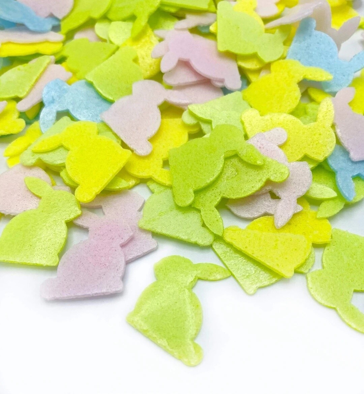 Happy Sprinkles - EASTER BUNNIES 14g -Wafer Μείγμα Ζαχαρωτών Χρωματιστά Κουνελάκια
