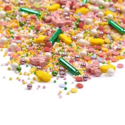 Happy Sprinkles Mix -TROPICAL MIAMI 90g - Μείγμα Ζαχαρωτών με Τροπικό Θέμα