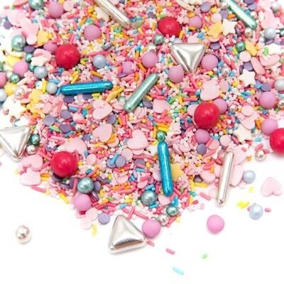 Happy Sprinkles Mix -COLOUR UP 90g - Μείγμα Ζαχαρωτών Πολύχρωμο