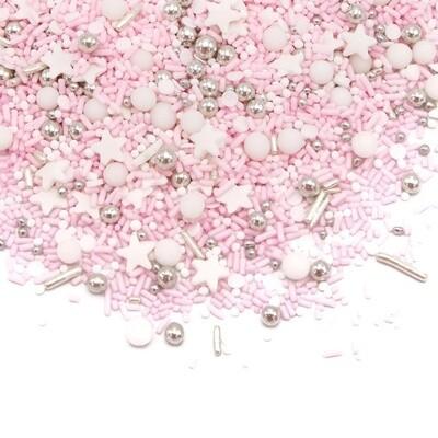 Happy Sprinkles Mix -SHY PRINCESS -VEGAN 180g - Βίγκαν Μείγμα Ζαχαρωτών Πριγκίπισσα