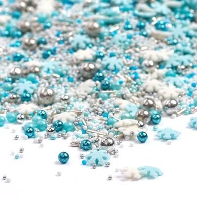 Happy Sprinkles Mix -FROST QUEEN 90g - Μείγμα Ζαχαρωτών 'Παγωμένη Βασίλισσα'