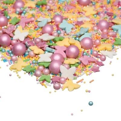 Happy Sprinkles Mix -PASTEL SUMMER 90g - Μείγμα Ζαχαρωτών σε Παστέλ Αποχρώσεις