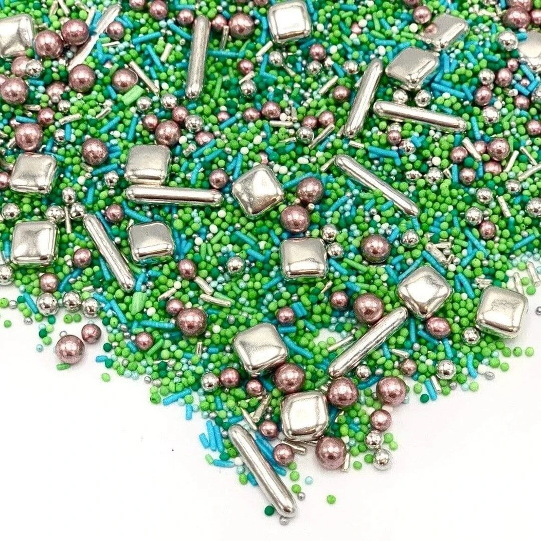 Happy Sprinkles Mix -GARDEN PARTY 90g - Μείγμα Ζαχαρωτών 'Πάρτυ στον Κήπο'