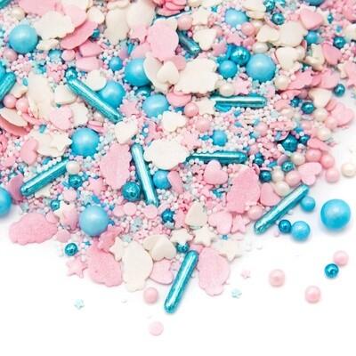 Happy Sprinkles Mix -SWEET HEAVEN 90g - Μείγμα Ζαχαρωτών σε Παστέλ Αποχρώσεις