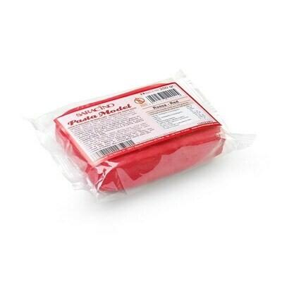 Saracino Modelling Paste 250g -RED -Πάστα Μοντελισμού -Κόκκινη - 250γρ