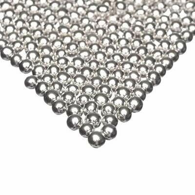 Happy Sprinkles - Choco Dragees -SILVER METALLIC -SMALL 75g - Βρώσιμες Σοκολατένιες Πέρλες Ασημί Μικρές