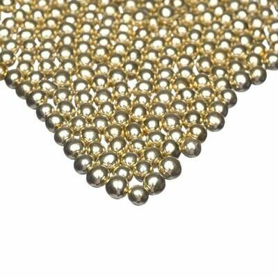 Happy Sprinkles - Choco Dragees -GOLD METALLIC -SMALL 75g - Βρώσιμες σοκολατένιες πέρλες Χρυσές Μικρές
