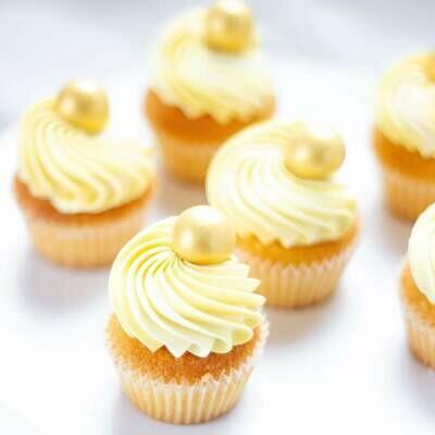 Happy Sprinkles - Choco Dragees -GOLD METALLIC CRUNCH -XXL 135g - Βρώσιμες σοκολατένιες πέρλες σε Χρυσή Απόχρωση, Πολύ Μεγάλες