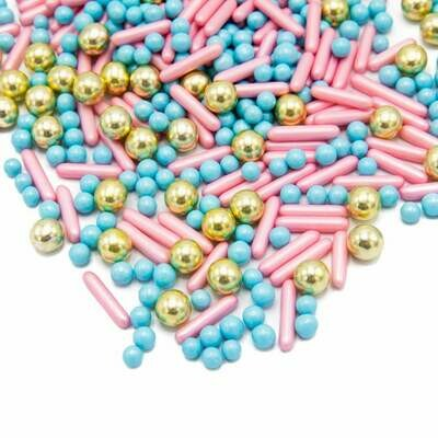 Happy Sprinkles Mix -HAPPY PRINCESS 190g - Μείγμα Ζαχαρωτών Ευτυχισμένη Πριγκίπισσα