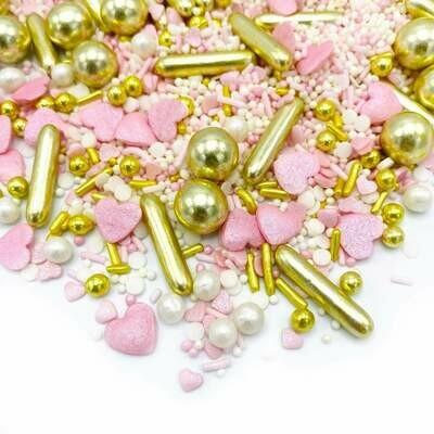 Happy Sprinkles Mix -PRINCESS DIARY 90g - Μείγμα Ζαχαρωτών Πριγκίπισσα