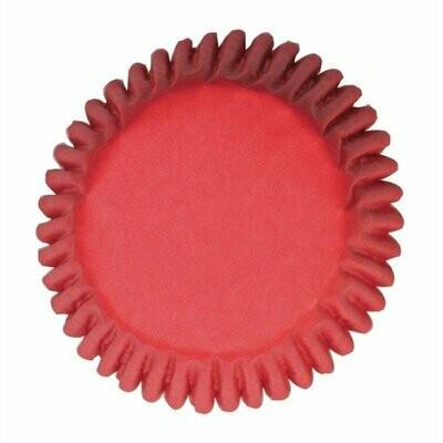 Culpitt BULK Cupcake Cases -PLAIN RED -Θήκες Ψησίματος -Κόκκινο 250 τεμ