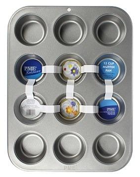 PME Baking Tin for 12 Cupcakes/Muffins -Ταψί για 12 Κάπκεϊκς/Μάφινς