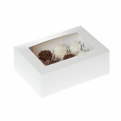 House of Marie -Box for 12 MINI CUPCAKES - Κουτί για 12 Μίνι Καπκέϊκς/Μάφινς -2τμχ