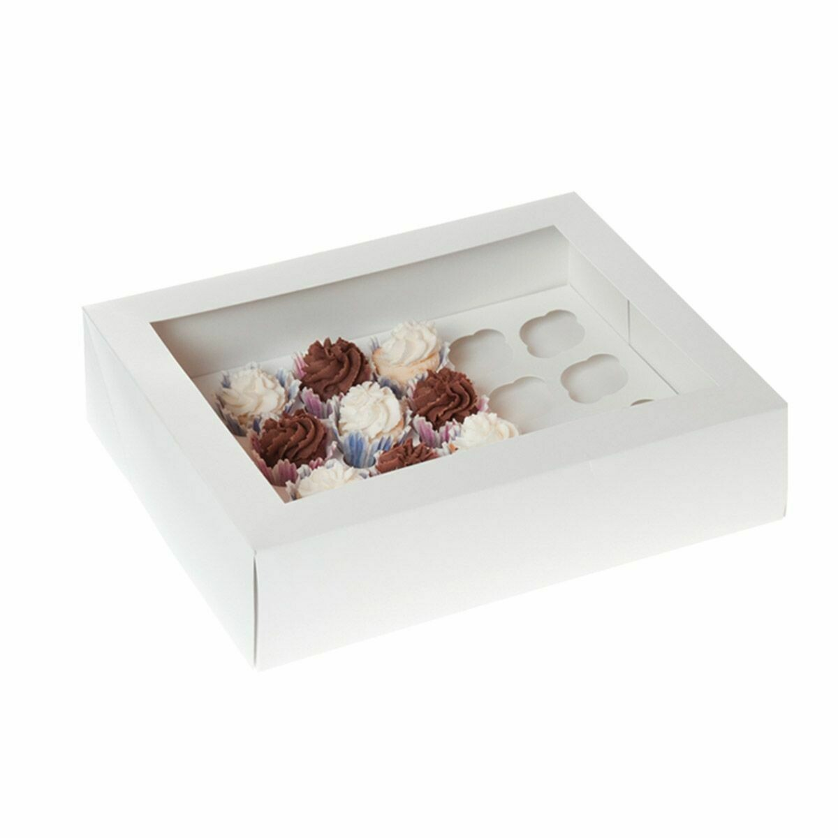 House of Marie -Box for 24 MINI CUPCAKES - Κουτί για 24 Μίνι Καπκέϊκς/Μάφινς -2τμχ