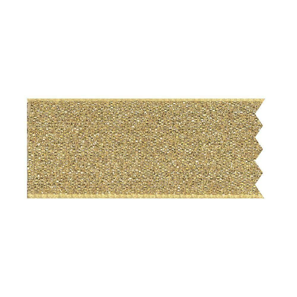 By AH Cake Ribbons -Κορδέλα Τούρτας 4εκ 'Gold Lamé' - Χρυσή