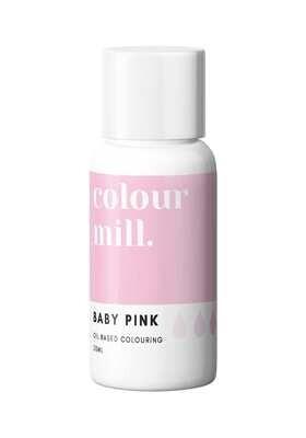 Colour Mill Oil Based Gel Colour -BABY PINK 20ml - Χρώμα Σοκολάτας σε Τζελ Απαλό Ροζ