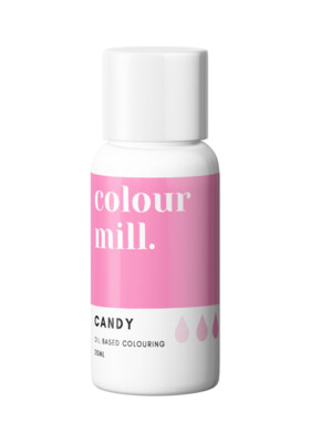 Colour Mill Oil Based Gel Colour -CANDY 20ml - Χρώμα Σοκολάτας σε Τζελ Έντονο Ροζ