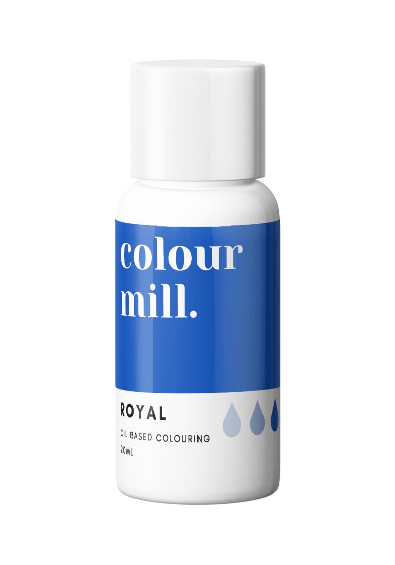 Colour Mill Oil Based Gel Colour -ROYAL 20ml - Χρώμα Σοκολάτας σε Τζελ Βασιλικό Μπλε