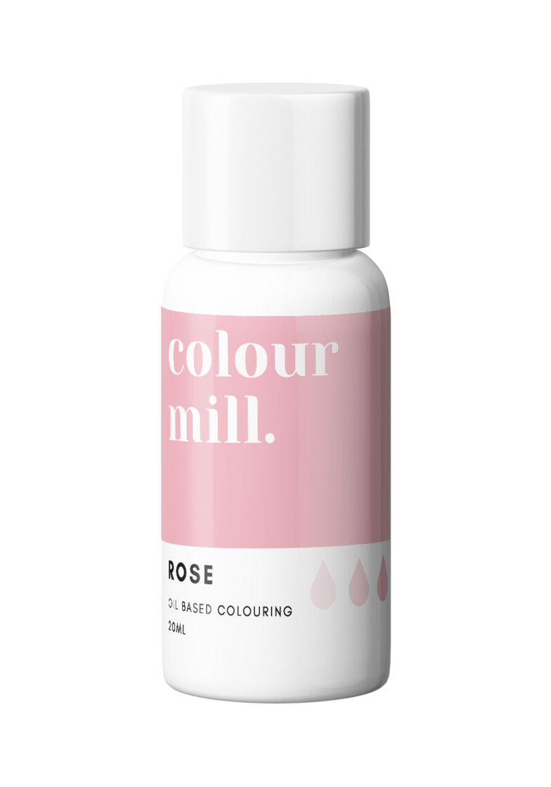 Colour Mill Oil Based Gel Colour -ROSE 20ml - Χρώμα Σοκολάτας σε Τζελ Ροζ