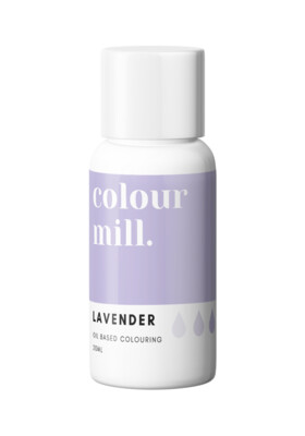 Colour Mill Oil Based Gel Colour -LAVENDER 20ml - Χρώμα Σοκολάτας σε Τζελ Μωβ
