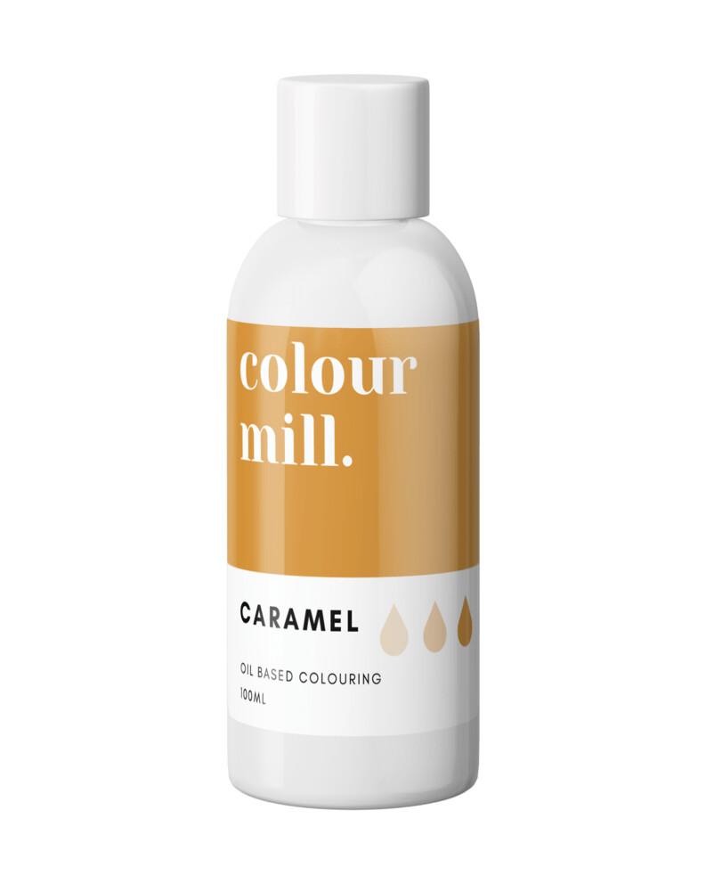 Colour Mill Oil Based Gel Colour -CARAMEL 20ml - Χρώμα Σοκολάτας σε Τζελ Καραμέλα