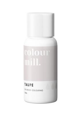 Colour Mill Oil Based Gel Colour -TAUPE 20ml - Χρώμα Σοκολάτας σε Τζελ Μπεζ/Γκρι