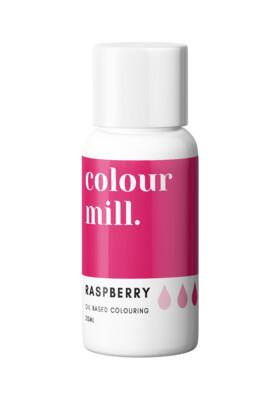 Colour Mill Oil Based Gel Colour -RASPBERRY 20ml - Χρώμα Σοκολάτας σε Τζελ Φούξια