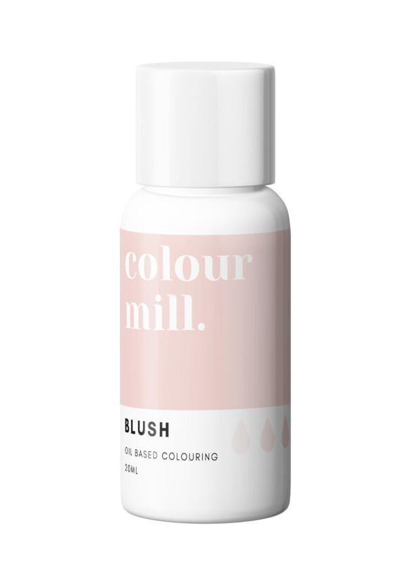 Colour Mill Oil Based Gel Colour -BLUSH 20ml - Χρώμα Σοκολάτας σε Τζελ Ροζ