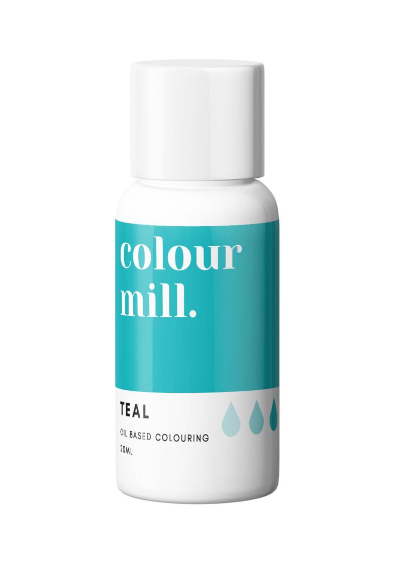Colour Mill Oil Based Gel Colour -TEAL 20ml - Χρώμα Σοκολάτας σε Τζελ Τυρκουάζ