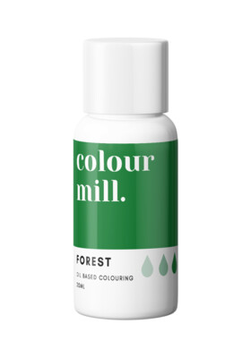 Colour Mill Oil Based Gel Colour -FOREST 20ml - Χρώμα Σοκολάτας σε Τζελ Πράσινο του Δάσους