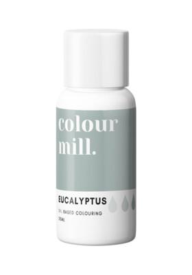 Colour Mill Oil Based Gel Colour -EUCALYPTUS 20ml - Χρώμα Σοκολάτας σε Τζελ Πράσινο του Ευκαλύπτου