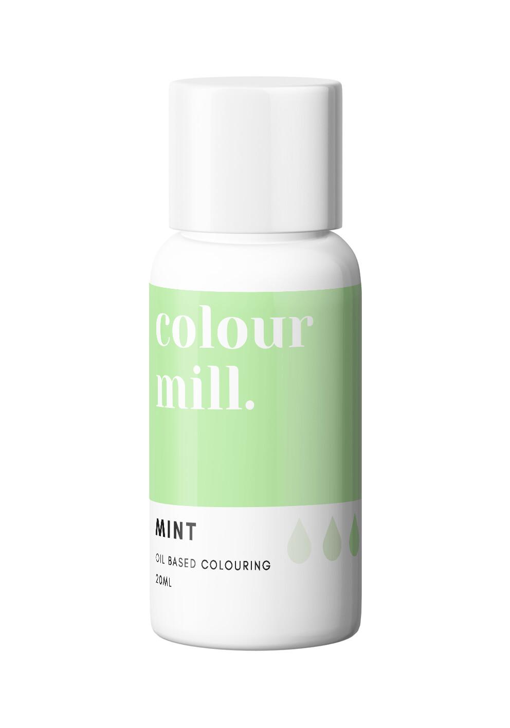Colour Mill Oil Based Gel Colour -MINT 20ml - Χρώμα Σοκολάτας σε Τζελ Μέντα