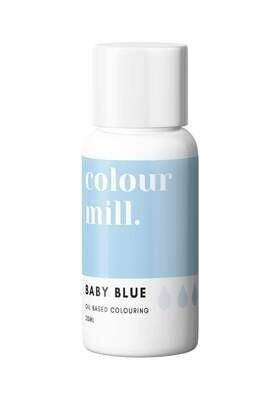 Colour Mill Oil Based Gel Colour -BABY BLUE 20ml - Χρώμα Σοκολάτας σε Τζελ Απαλό Γαλάζιο
