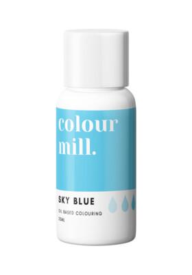 Colour Mill Oil Based Gel Colour -SKY BLUE 20ml - Χρώμα Σοκολάτας σε Τζελ Γαλάζιο