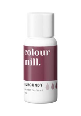 Colour Mill Oil Based Gel Colour -BURGUNDY 20ml - Χρώμα Σοκολάτας σε Τζελ Μπορντώ