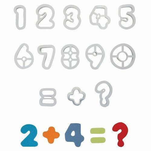 PME Cutters -NUMBER - Σετ 13τεμ Κουπ πατ Νούμερα 5.3εκ