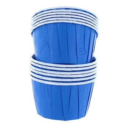 Baked With Love Baking Cups -BLUE - Κυπελάκια Ψησίματος -Μπλε 12 τεμ