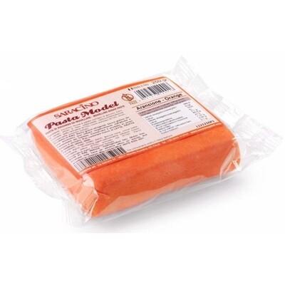 Saracino Modelling Paste 250g -ORANGE -Πάστα Μοντελισμού -Πορτοκαλί  - 250γρ